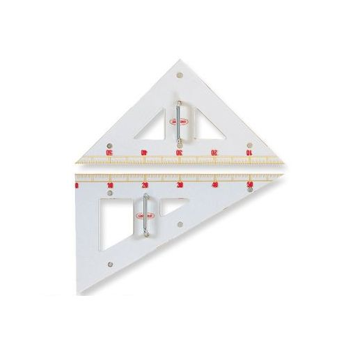 共栄プラスチック [GN-120] 教師用 三角定規 GN120【AKB】