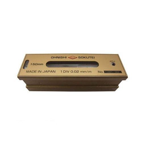 大西測定 201150 OSS 平形精密水準器【一般工作用】150mm【送料無料】