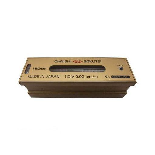大西測定 201250 OSS 平形精密水準器【一般工作用】250mm【送料無料】