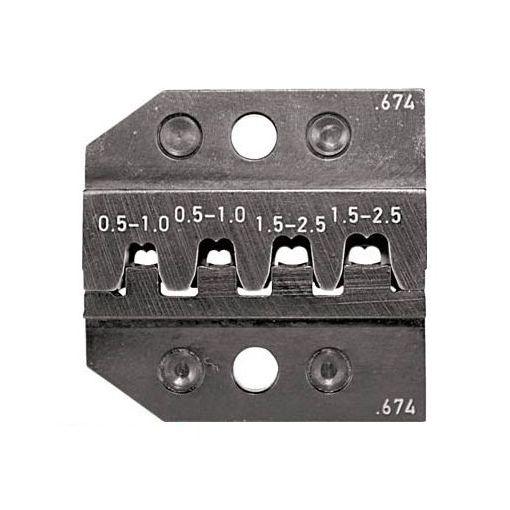 RENNSTEIG 62467430 RENNSTEIG 圧着ダイス 624-674 ソケットコンタクト 0.5-2.【送料無料】