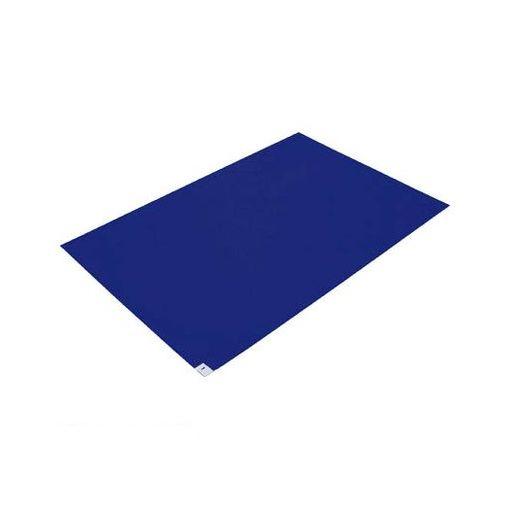 【個数:1個】トラスコ中山 CM601210B TRUSCO 粘着クリーンマット 600X1200MM ブルー 10シート入【送料無料】