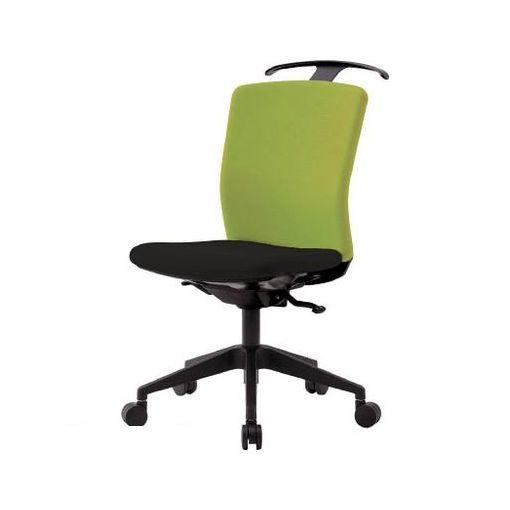 【個数:1個】アイリスチトセ HGXCKRS46M0FLGY アイリスチトセ ハンガー付回転椅子【シンクロロッキング】 グリーン/ブラック