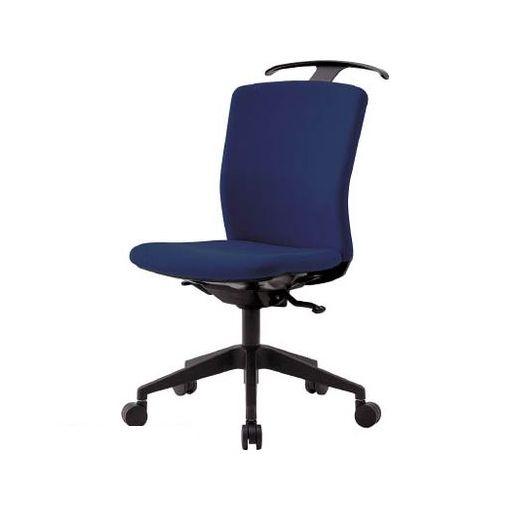 【個数:1個】アイリスチトセ HGXCKRS46M0FN アイリスチトセ ハンガー付回転椅子【シンクロロッキング】 ネイビー