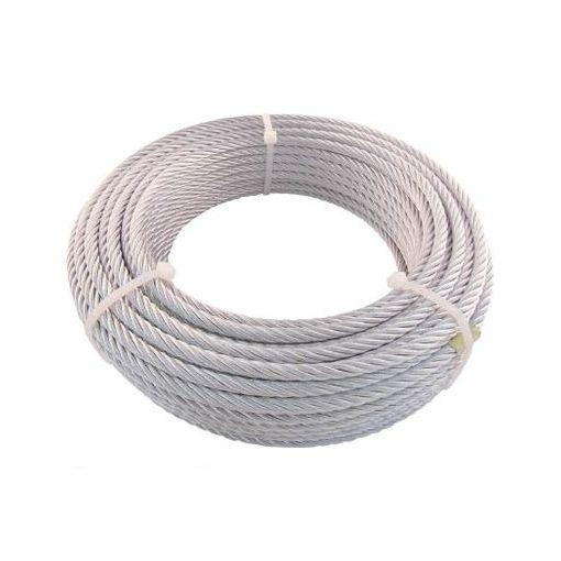 トラスコ中山 JWM9S30 TRUSCO JIS規格品メッキ付ワイヤロープ 【6X24】Φ9mmX30m
