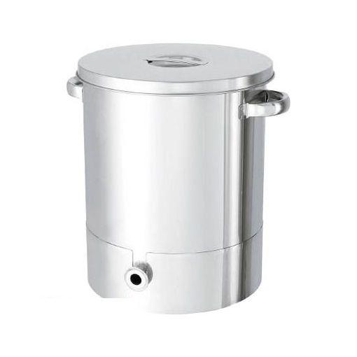 【個数:1個】日東金属工業 KTTST43 日東 ステンレスタンク片テーパー型汎用容器 65L【送料無料】