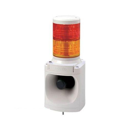 パトライト LKEH220FARY パトライト LED積層信号灯付き電子音報知器【送料無料】
