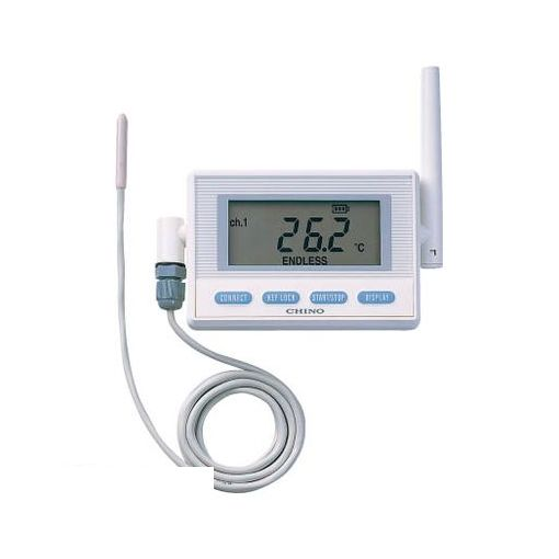 チノー MD8001300 CHINO 監視機能付き無線ロガー 送信器 サーミスタ外付けモデル リード3M【送料無料】