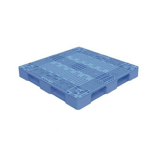【個数:1個】トラスコ中山 TMSCP1111B TRUSCO TMSC型樹脂パレット 1100X1100 青【送料無料】