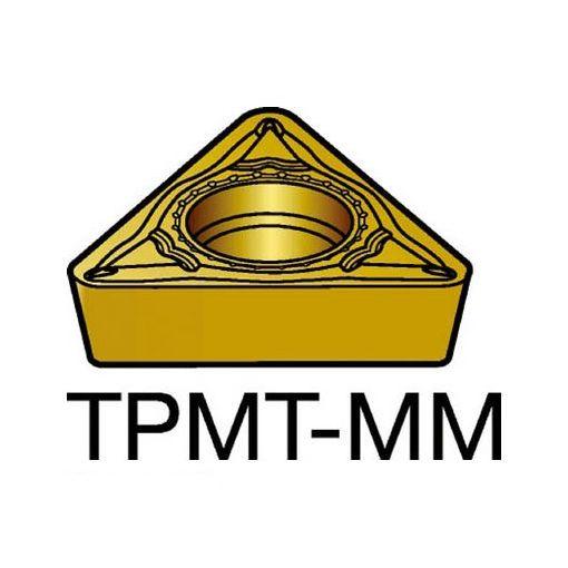 【あす楽対応】サンドビック TPMT16T304MM サンドビック コロターン111 旋削用ポジ・チップ 2025 10入