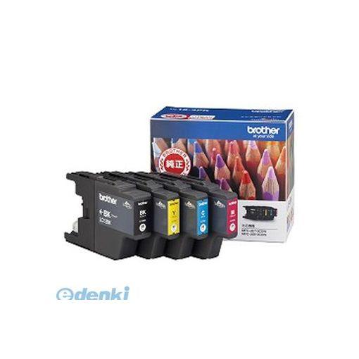 ブラザー販売 LC12-4PK 記念日 インクカートリッジ4色入りパック LC124PK メーカー公式ショップ 1セット