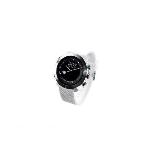 CONNECTEDEVICE [4562187616178] Bluetooth SMART対応アナログ腕時計 COGITO CLASSIC シリコンバンド ホワイト 【送料無料】