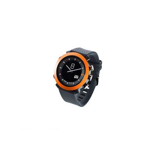 CONNECTEDEVICE 4562187616192 Bluetooth SMART対応アナログ腕時計 COGITO CLASSIC シリコンバンド オレンジ 【送料無料】