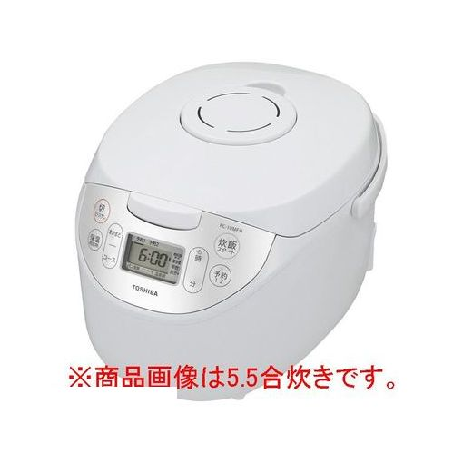 【納期-約2週間】【納期-約2週間】東芝(TOSHIBA) [RC-18MFH-W] マイコン炊飯ジャー(1升炊き) RC18MFHW