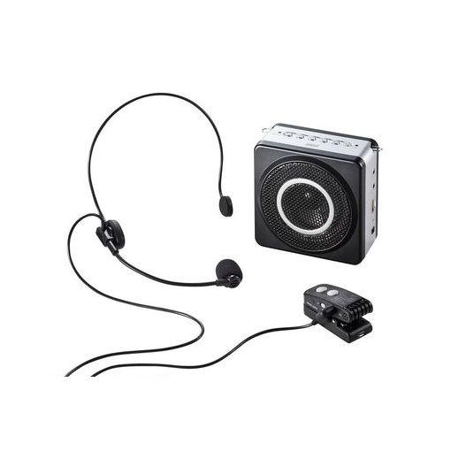 サンワサプライ [MM-SPAMP5] ワイヤレスポータブル拡声器 MMSPAMP5 【送料無料】