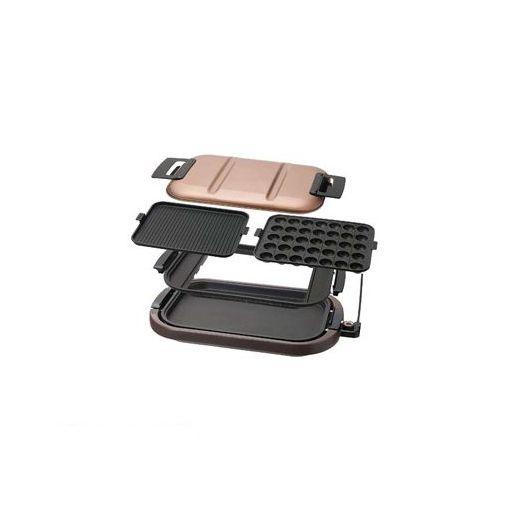 シィーネット [SHP301] ワイドホットプレート【平面/焼肉/たこ焼き】 【送料無料】
