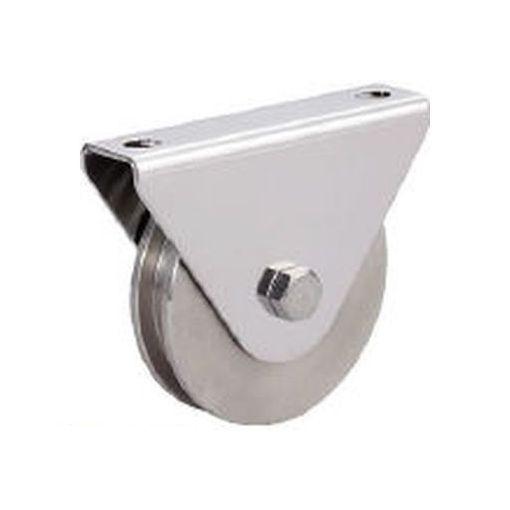 スガツネ [JS365-50H] SUS製重量用戸車枠付コ型 JS365-50H【200024750 JS36550H