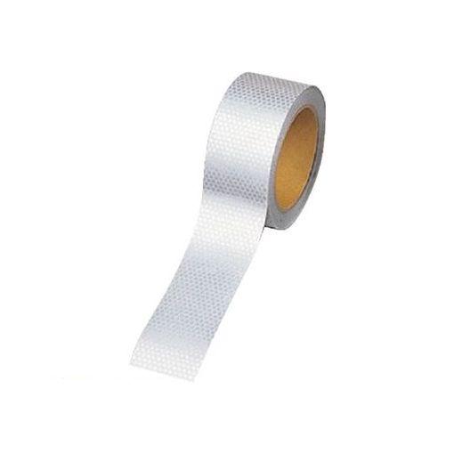 ユニット 374-77 高輝度テープ【白】45mm幅×10m ポリエステル樹脂フィルム 37477