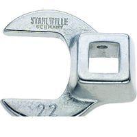 スタビレー:STAHLWILLE: STAHLWILLE 540-22 3/8SQ クローフットスパナ 54022