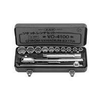 旭金属工業 ASAHI VO4100 ASH ソケットレンチセット12.7□×13PCS V 376-7281