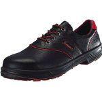 【あす楽対応】シモン [SL11R-25.0] 安全靴 短靴 SL11-R黒/赤 25.0cm SL11R25.0 325-5573【送料無料】 【送料無料】