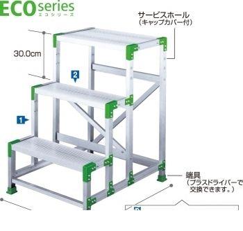 長谷川工業 ハセガワ EWA-30 エコシリーズ作業台 3段 0.9m 個数:1個 他メーカー同梱不可 店内全品対象 直送 0 代引不可 正規取扱店 EWA30 送料無料