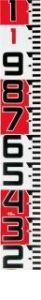 TJMデザイン タジマツール SYR-10TK シムロンロッド150 10M 1Mアカシロ SYR10TK【キャンセル不可】