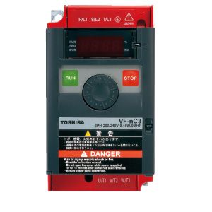 TOSHIBA 東芝 VFNC3S-1007P 簡単・小形インバータVFNC3シリーズ VFNC3S1007P 【送料無料】