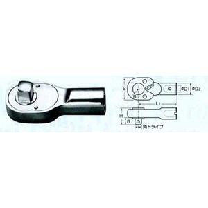 中村製作所 KANON 1000QCK QCK形ラチェットヘッド カノン 1000QCK 【送料無料】【キャンセル不可】