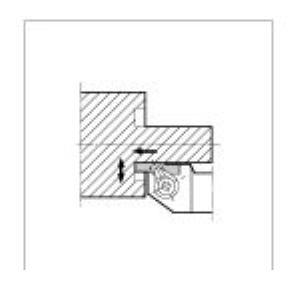 京セラ GFVSL2525M-HB 溝入れ用ホルダ GFVSL2525MHB 643-4169 【送料無料】【キャンセル不可】