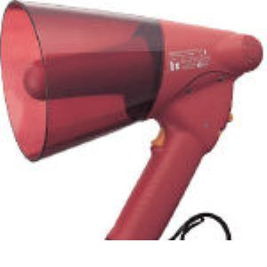 【あす楽対応】TOA ER-1106S 小型ハンド型メガホン サイレン音付き ER1106S 290-4560 【送料無料】