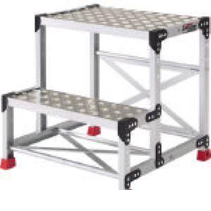 トラスコ中山(TRUSCO) [TSFC-256] アルミ合金製作業台 縞鋼板 500X400X60 TSFC256