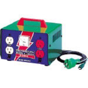 日動 M-E20 変圧器 昇圧器ハイパワー 2KVA アース付タイプ 100V-115・125 ME20