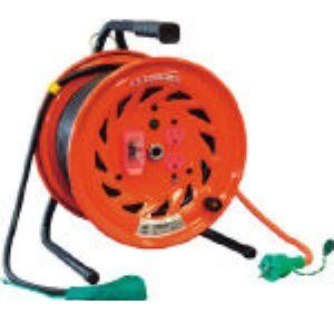 【あす楽対応】日動 [RND-EK30S] 電工ドラム びっくリール 100V アース過負荷漏電しゃ断器付 30m RNDEK30S