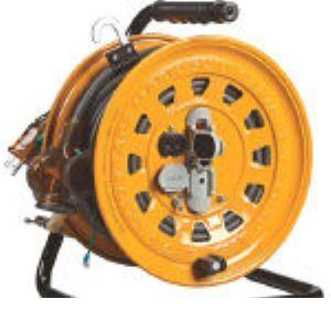 ハタヤ TGM-150K 逆配電型コードリール マルチテモートリール単相100Vアース付47+6 TGM150K