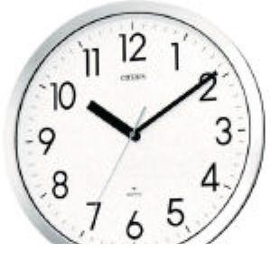 シチズン 4MG522-050 プルーフ522 掛時計 クロームメッキ 4MG522050 294-2615