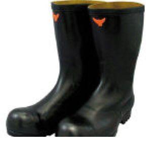 【あす楽対応】SHIBATA [SB021-28.0] 安全耐油長靴(黒) SB02128.0 324-2358 【送料無料】
