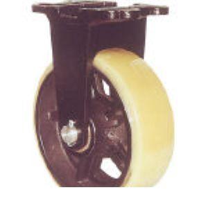 ヨドノ MUHA-MK200X75 鋳物重量用キャスター MUHAMK200X75 305-3253 【送料無料】