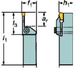 SV LF151.23-2525-20M1 突切り溝入れ用シャンクホルダー LF151.2325 LF151.23252520M1 【キャンセル不可】
