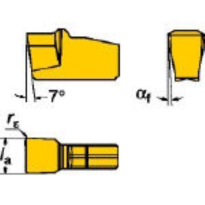 SV N151.2-200-20-4G 235 溝入れ・突切り用旋削チップCOA 10個入 N151.2200204G 235 【キャンセル不可】