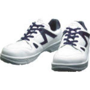 【あす楽対応】シモン [8611WB-27.5] 安全作業靴 短靴 8611白/ブルー 27.5cm 8611WB 8611WB27.5 【送料無料】 【送料無料】
