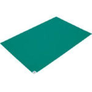【あす楽対応】【個数:1個】ブラストン BSC-84001-G 粘着マット-緑 【10枚入】 BSC84001G 303-4992 【送料無料】