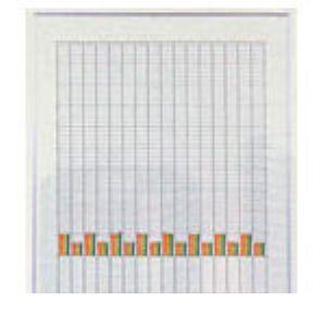 【個数:1個】日本統計器 SG316 直送 代引不可・他メーカー同梱不可 小型グラフSG316 480X553MM 463-9715 【キャンセル不可】