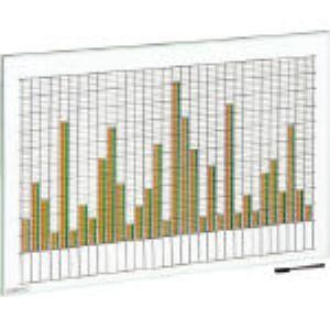 【個数:1個】日本統計器 SG332 直送 代引不可・他メーカー同梱不可小型グラフSG332 860X553MM 463-9723 【キャンセル不可】
