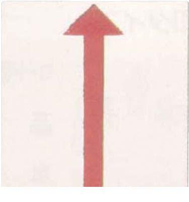 マイゾックス EP5BP アースプレート上矢印貼付 EP-5BP【10セット】 【送料無料】【キャンセル不可】
