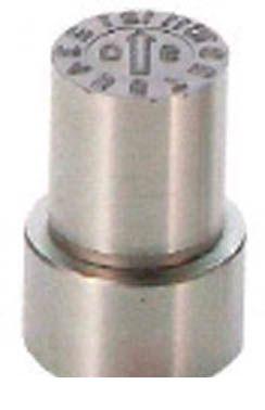 【個数:1個】浦谷 [WB-OM-16] 「直送」【代引不可・他メーカー同梱不可】 W型金型デートマークデートマークOM型 外径16mm WBOM16 【送料無料】【キャンセル不可】