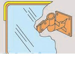 日本緑十字 [277250]「直送」【代引不可・他メーカー同梱不可】 壁角SS46 277250 【送料無料】【キャンセル不可】