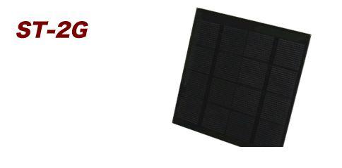 【個数:1個】電菱(DENRYO) [ST-2G] フレームレス太陽電池 ST2G 【送料無料】