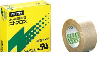 日東電工 NITTO 973X18X38 ニトフロン粘着テープ NO0973UL 0.18mm×3 124-6950