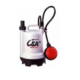 寺田ポンプ製作所 TERADA CSA-100-50 小型水中ポンプ 軽量合成樹脂製 自動 CSA10050 【送料無料】