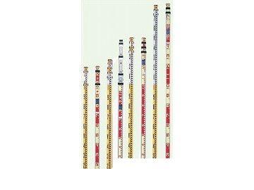 【個数:1個】ヤマヨ YAMAYO AS5-5 直送 代引不可・他メーカー同梱不可 アルミスタッフ 測量用 AS55
